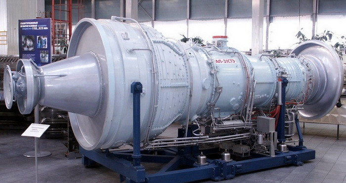Газотурбинный двигатель АЛ-31СТЭ