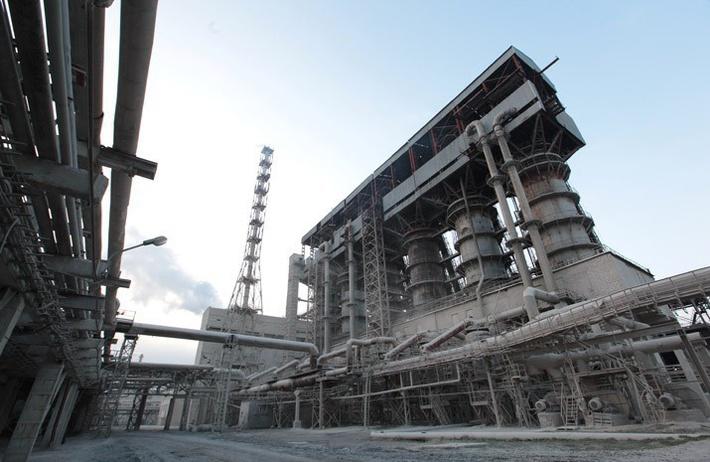 Специальная установка на крымском содовом заводе
