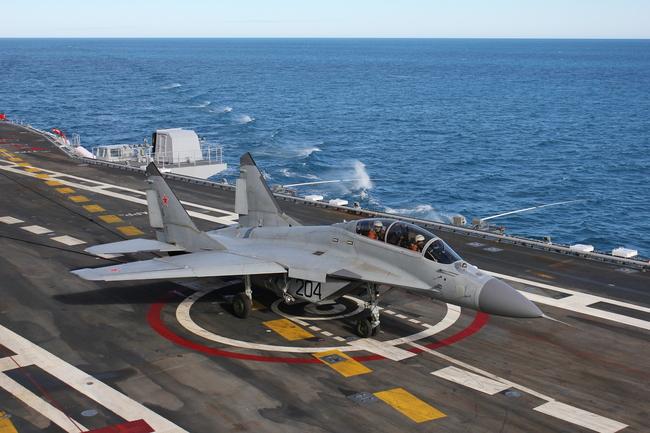 """МиГ-29КУБ с сайта РСК """"МиГ"""""""