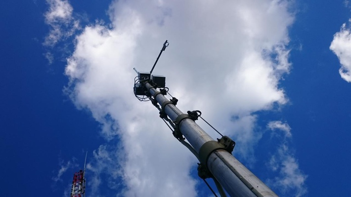 Антенна бьет на 25 километров за пределы Воронежа.