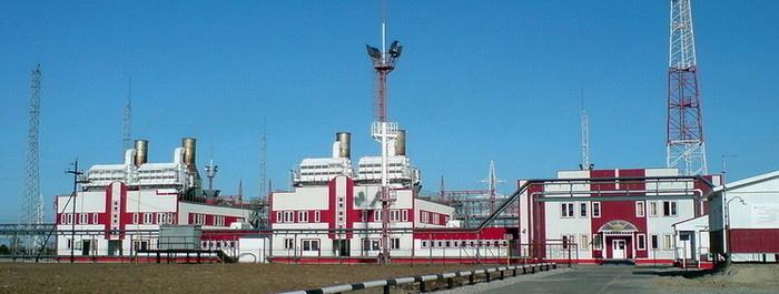Газотурбинная электростанция мощностью 48 МВт