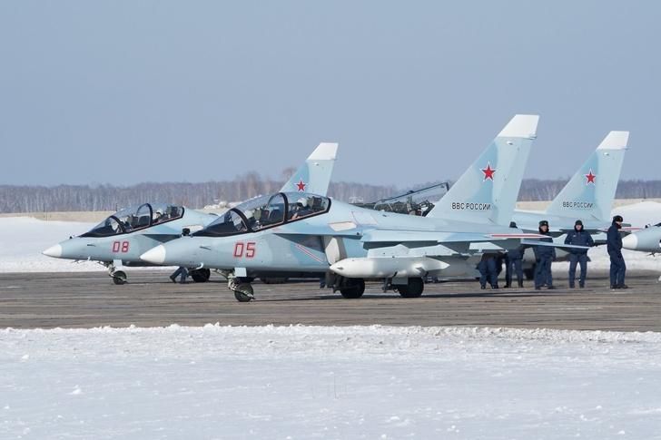 Новая партия Як-130 для ВКС