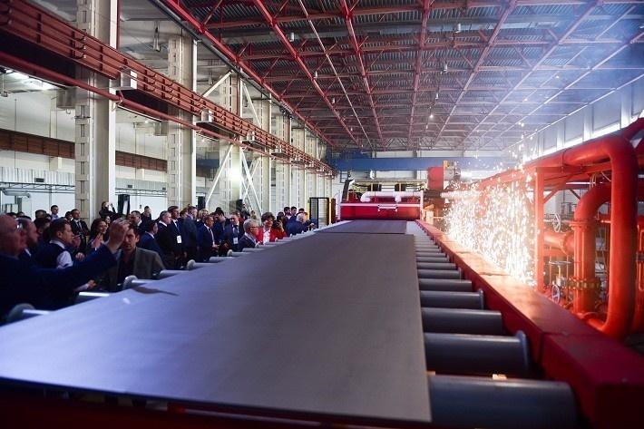 Цех подготовки металлических изделий для автомобильной промышленности открыт в Татарстане
