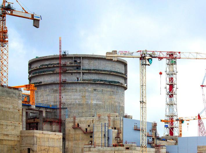 На Ленинградской АЭС-2 стартовала горячая обкатка оборудования первого строящегося энергоблока
