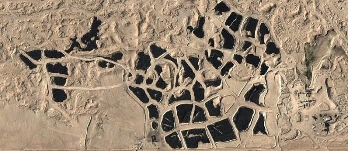 Свалка шин в кувейте