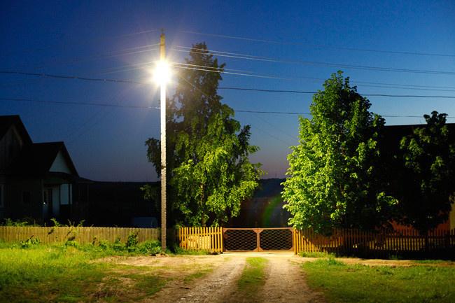 Модернизация уличных сетей наружного освещения
