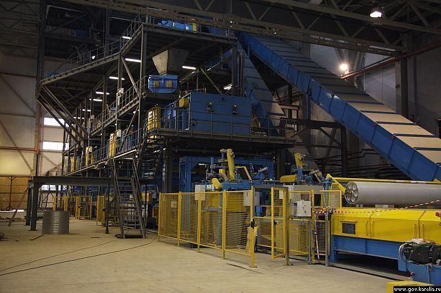 на заводе установлено самое современное оборудование