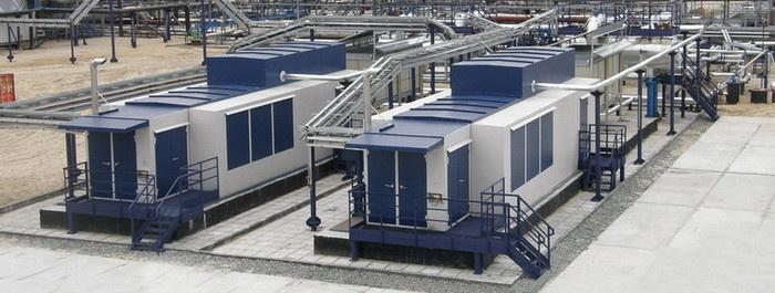 Вакуумные компрессорные станции «ЭНЕРГАЗ» для ЦПС ДНС-3 Вынгапуровского м/р (Газпромнефть-ННГ) проектировались специально для НН ПНГ с давлением 0,001 МПа