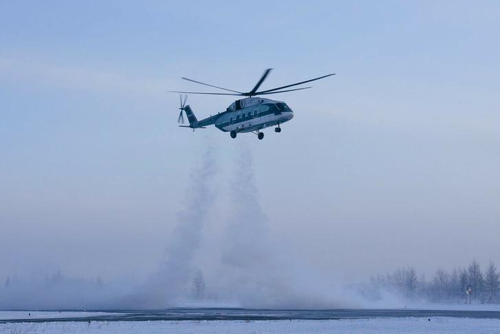 Испытания Ми-38 в условиях низких температур. Фото: «Вертолеты России»