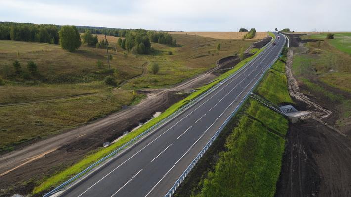 участок (с 115 км по 125 км) автодороги Р-178