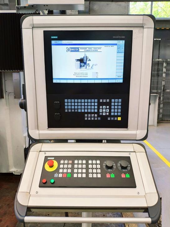Пульт одностоечного токарно-карусельный станок с ЧПУ для заказчика из Риги