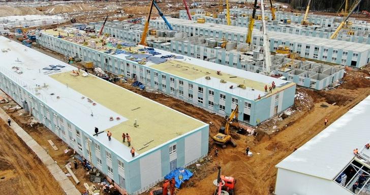 Строительство нового медицинского комплекса в ТиНАО