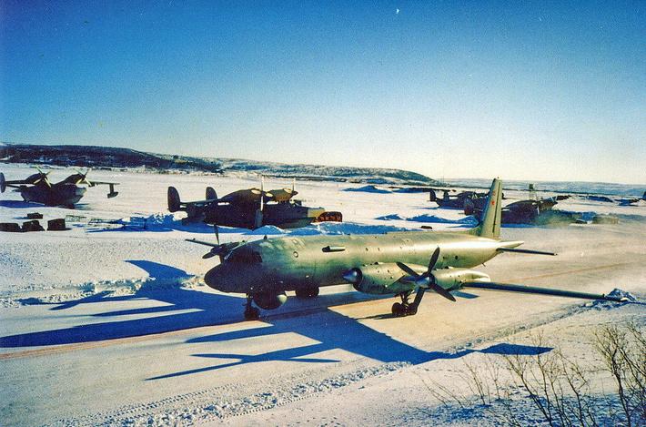 Немного истории - Ил-38 и Бе-12 Североморск-1