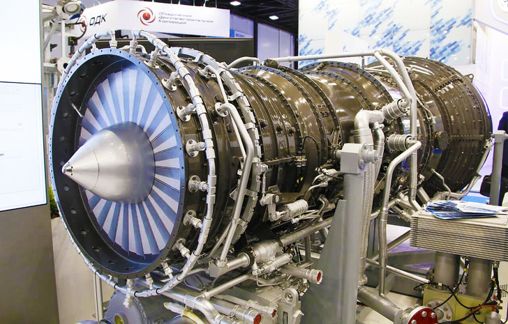 ОДК-УМПО представило двигатель АЛ-41СТ-25