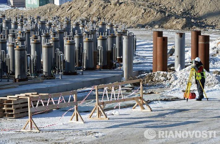 Постройка завода по сжижению газа на Ямале идет с опережением графика