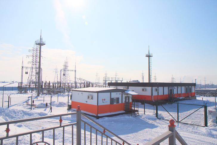 Пункт управления и подстанция Орской СЭС