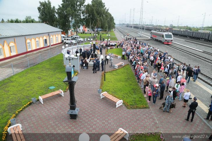 В Алтайском крае реконструирован Заринский железнодорожный узел