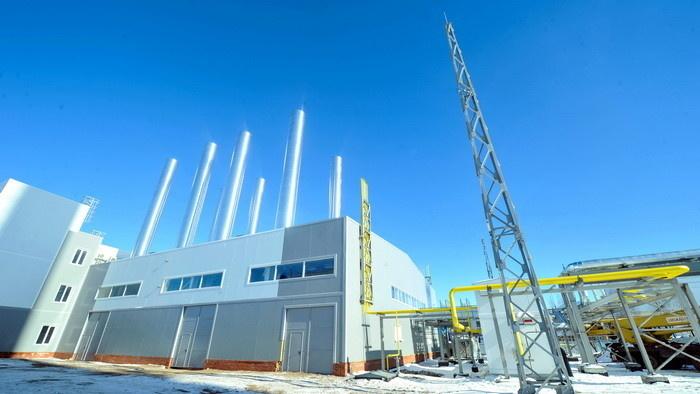 Новая ГТУ-ТЭС в Елабуге