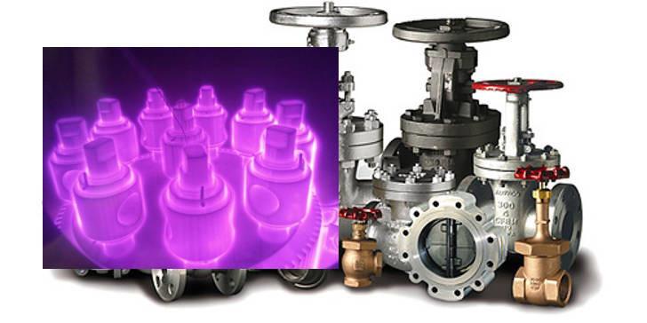 азотирование стальных деталей и запирающих элементов трубопроводной арматуры
