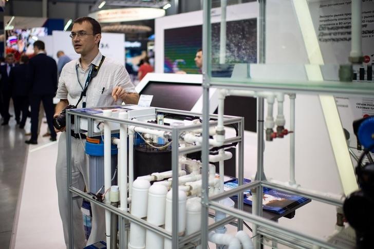 Холдинг «Швабе» представил новейшую систему водоочистки на выставке China International Import Expo