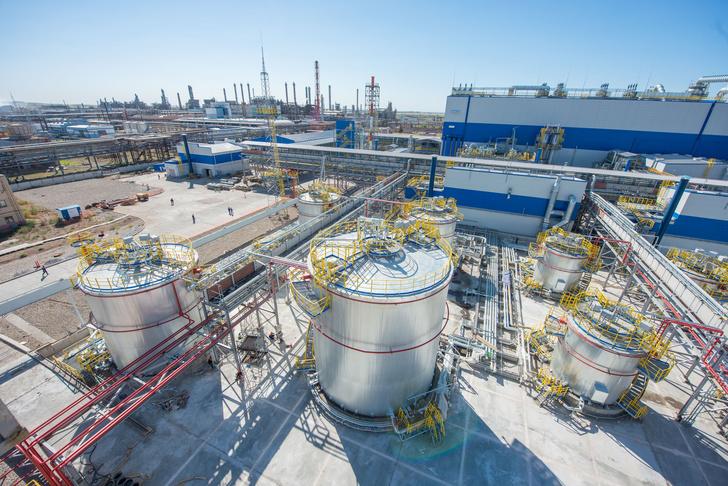 Строительство комплекса акриловой кислоты и акрилатов. Август 2016 года