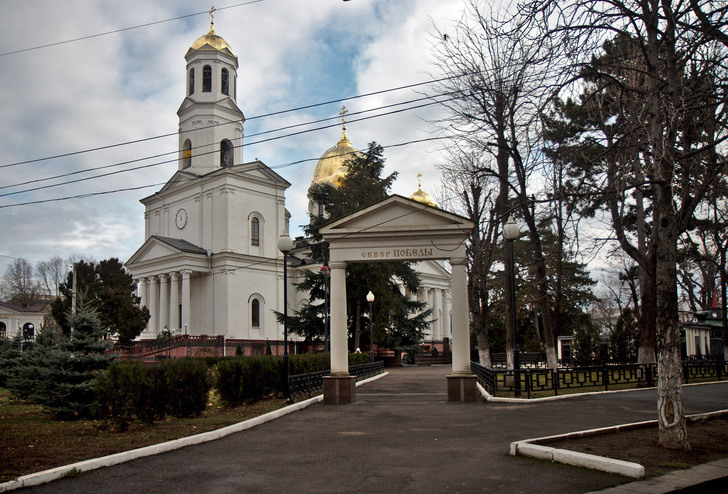Александро-Невский собор. Крым. Симферополь.