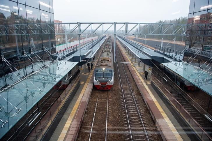 В Подмосковье после реконструкции открыта железнодорожная станция в Апрелевке