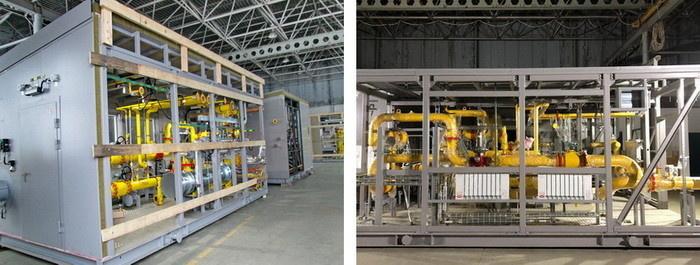 Блок-боксы УПТГ с оборудованием различного назначения