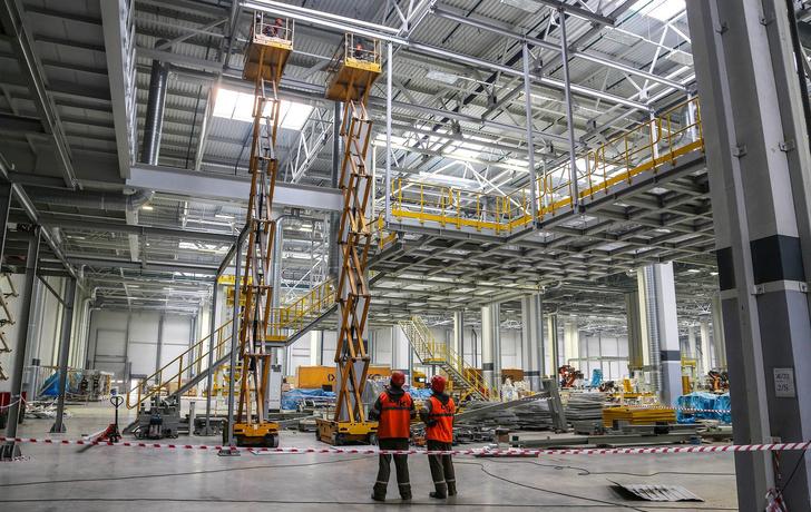Строительство завода каркасов кабин на КАМАЗе