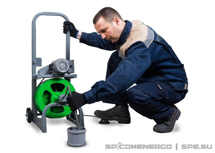 Аппарат для прочистки канализации SPEX REXT