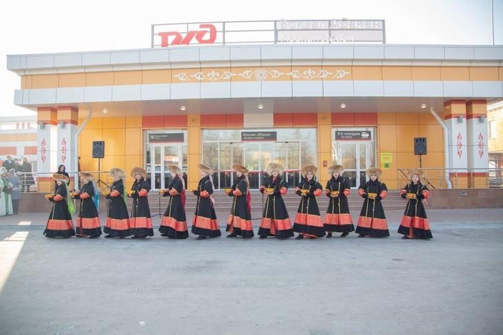 В Хакасии открыто новое здание железнодорожного вокзала на станции Абакан