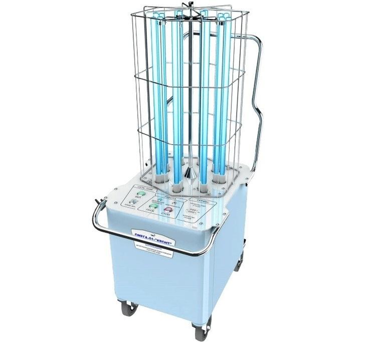 Ультрафиолетовые стерилизаторы помещений «Омега-01»