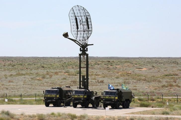 Мобильная радиолокационная станция «Каста-2-2» на конкурсе среди расчетов радиотехнических войск «Воздушные рубежи – 2017»