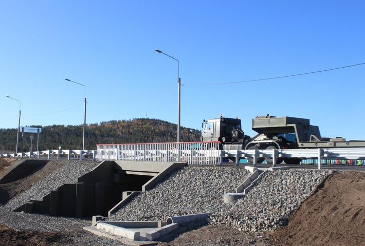 моста через суходол на трассе А-350
