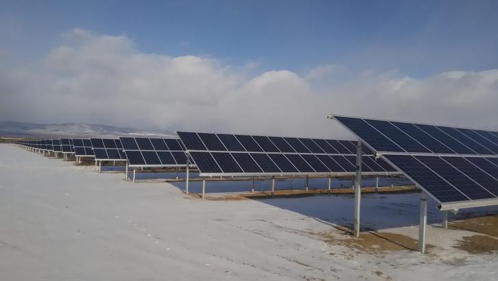 В Бурятии запущена первая в регионе солнечная электростанция