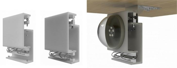 Слева направо: монтажная площадка и монтажное основание, монтажная приборная платформа ПМП-ВЗ в сборе, ПМП-ВЗ установлена на горизонтадбной поверхности снизу.