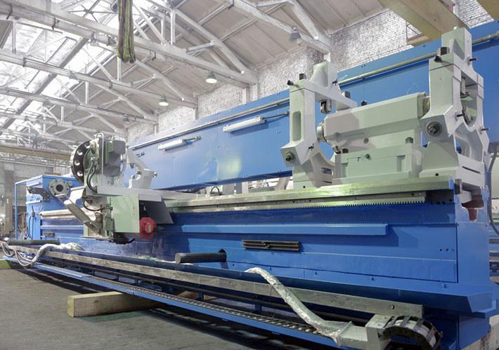 Токарный станок с ЧПУ 16Р40Ф3 РМЦ-5000 (защитные кожухи демонтированы перед транспортировкой, станок в консервации)