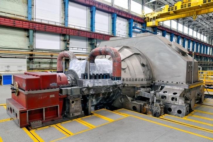 На Магнитке приступили к монтажу турбины 50МВт производства УТЗ