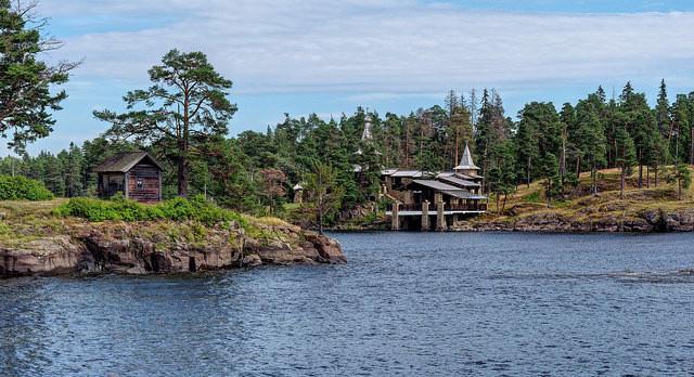 Валаамский архипелаг включает 50 островов общей площадью 36 кв. км.