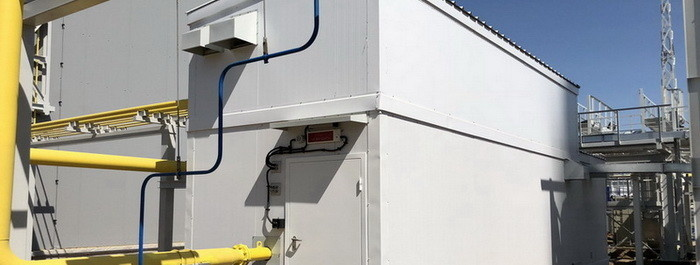 Пункт подготовки газа