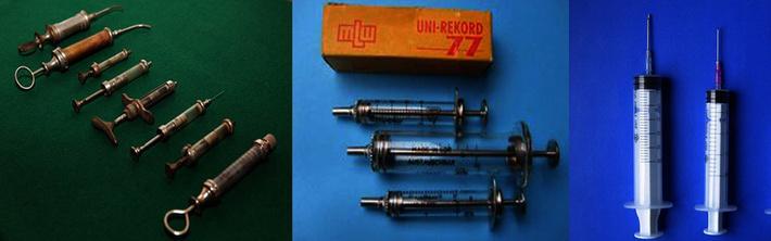 Старый дизайн многоразовых шприцов