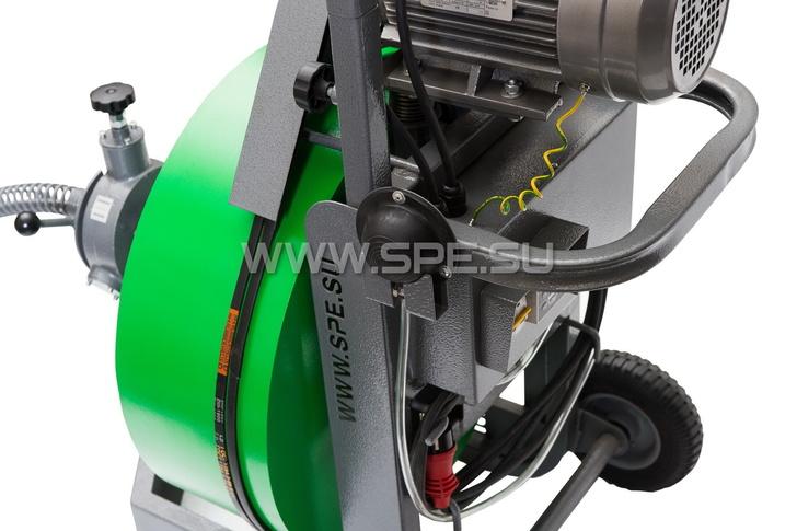 Пневматическая педаль управления двигателем аппарата SPEX FORTIS