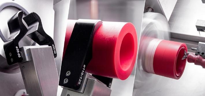 Токарный станок с ЧПУ для производства уплотнений