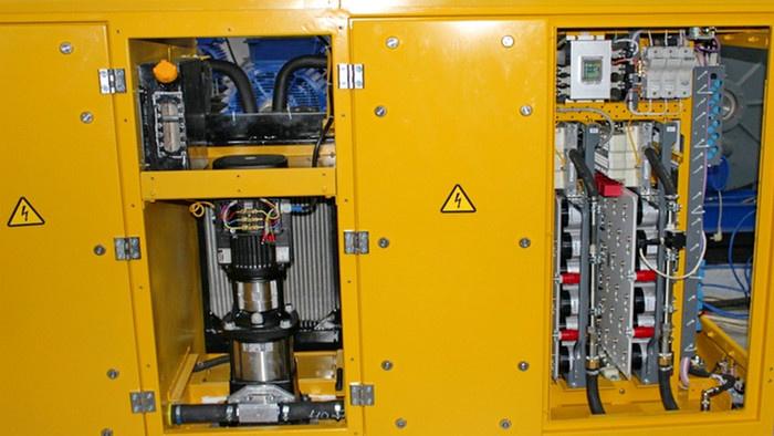 Циркуляционный насос с асинхронным двигателем