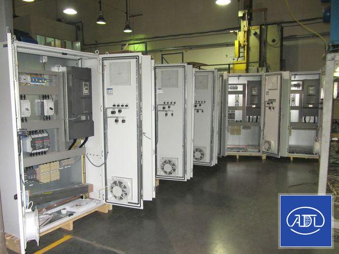 Шкафы управления АДЛ для Люберецкой станции аэрации