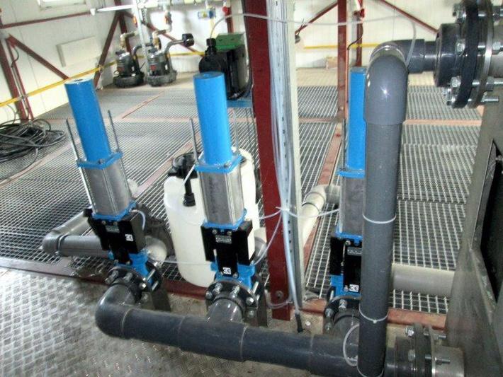 Технологическое оборудование станции PlanaOS-B