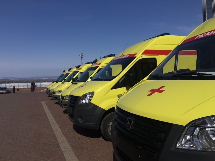 Самара получила 22 новые машины скорой помощи