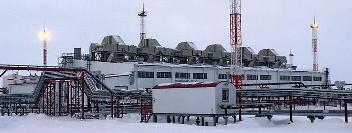 Самая северная материковая ГТЭС – Восточно-Мессояхская – работает на низконапорном попутном газе