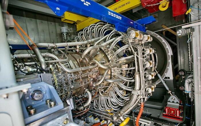Газовая турбина GE типа LM6000