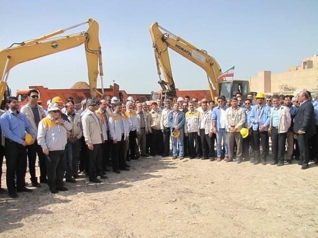 начало строительно-монтажных работ на АЭС Бушер-2